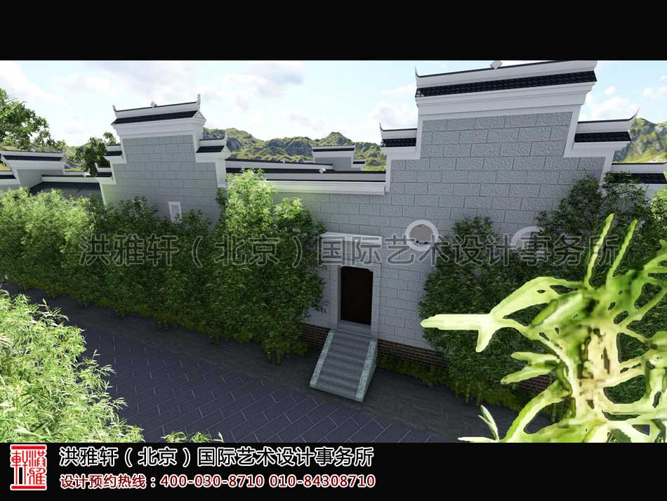 湖南官渡杨泗将军庙修缮整体方案之外观设计(五)