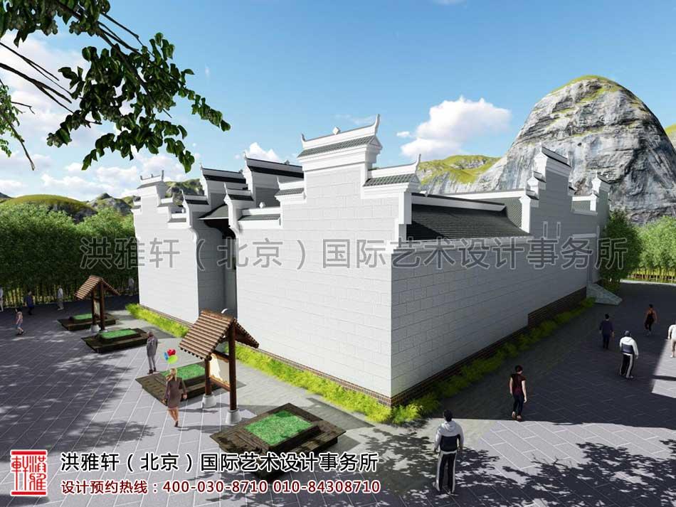 湖南官渡杨泗将军庙修缮整体方案之外观设计(六)