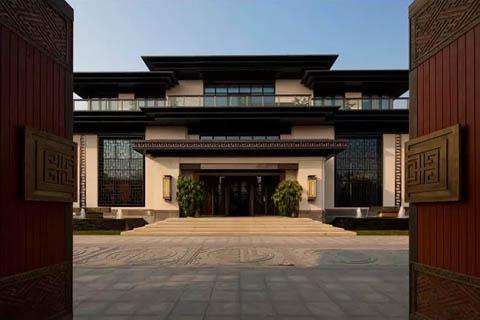 中式传统文化的复兴归来,中式装修庭院大门赏析