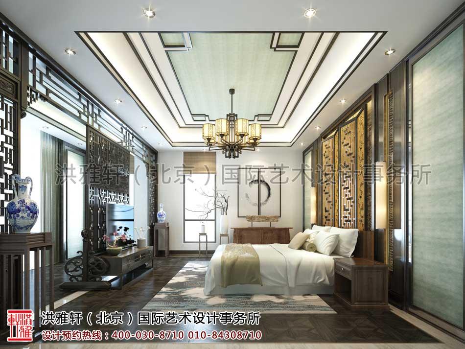 河北廊坊私人会所新中式设计之休息室设计效果图