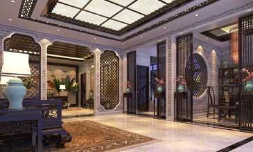 中式风格别墅设计效果图聚合赏析