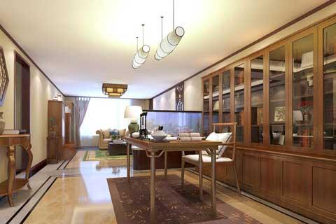 北京人济山庄某客户新古典中式家装设计案例