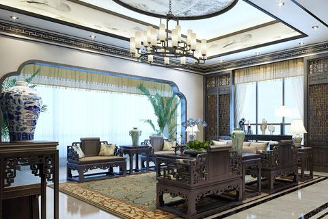河北廊坊私人会所新中式设计 打造禅意妙韵之境