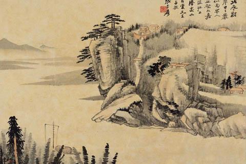 让我们从张大千开始,来论中国画的透视