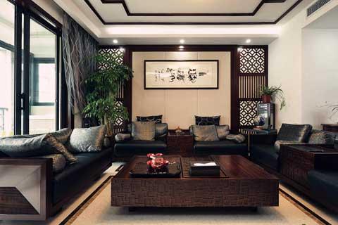 中式风格别墅设计效果图聚合赏析(四)