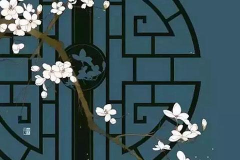 中式的窗 中式建筑的眼睛 开启的是最美的世界