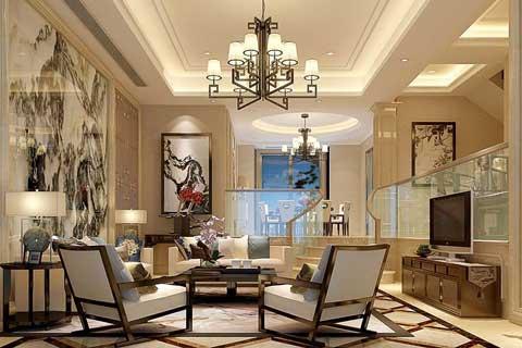 中式风格别墅设计效果图聚合赏析(五)