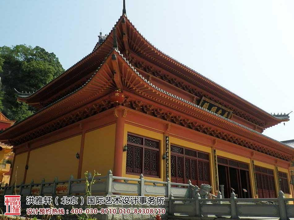 寺院装修建筑外观及局部(一)