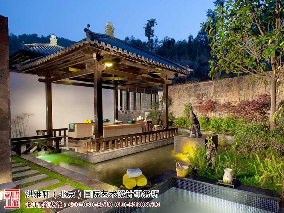 中式园林亭园设计效果图欣赏(一)