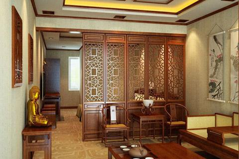 中式屏风中式文化的展现,中式传统工艺的续作传承