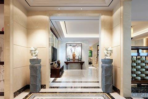 中式风格酒店设计效果图欣赏(二)