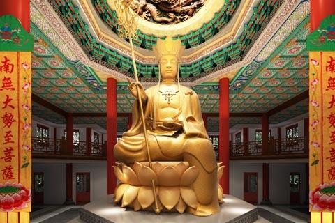 四川射洪大悲寺寺院设计方案 尽显佛禅之韵