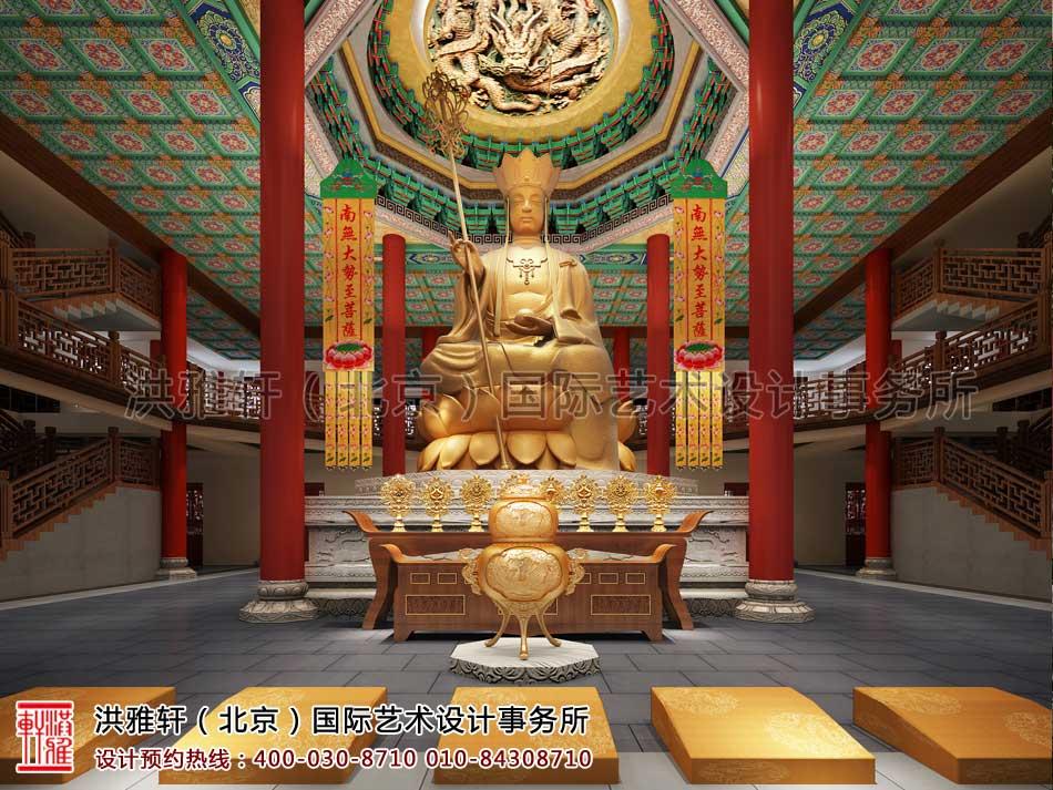 大悲寺大殿大厅设计效果图