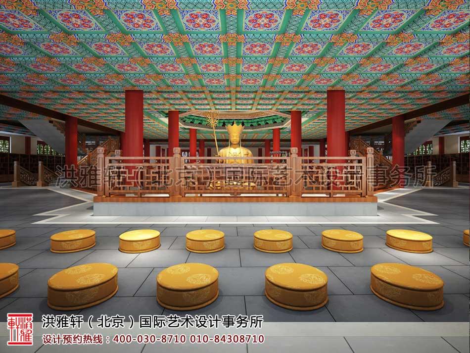 大悲寺大殿空间设计效果图