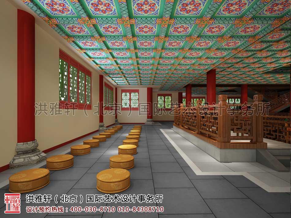大悲寺禅意中式空间设计效果图