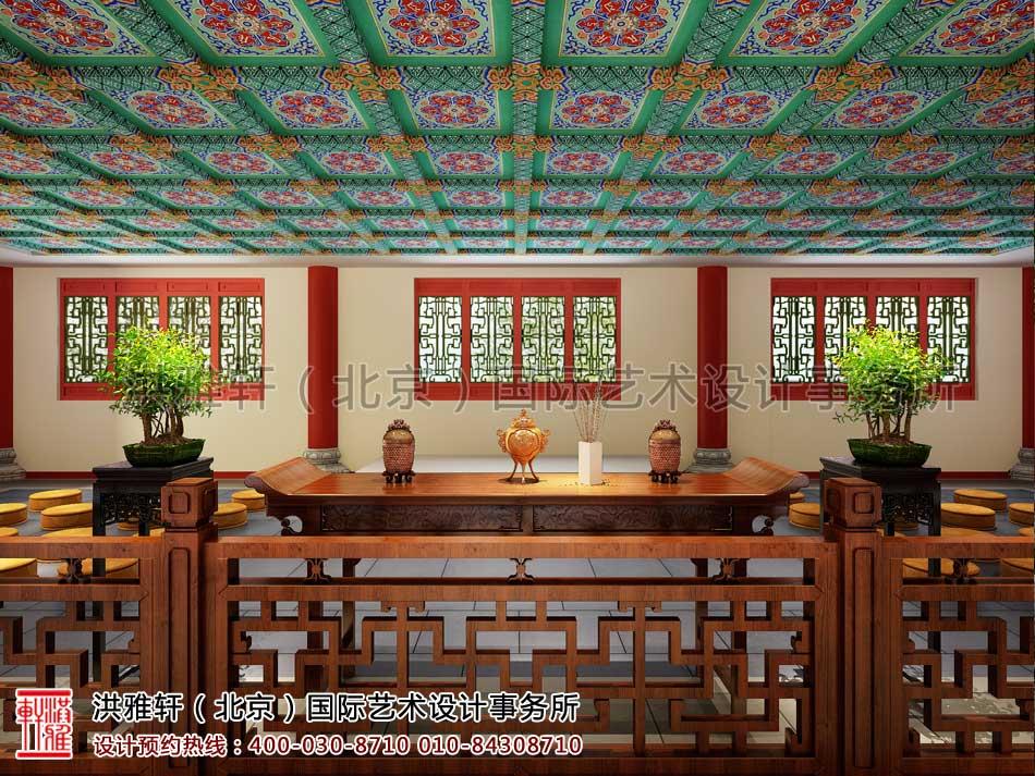 大悲寺禅意中式空间设计效果图(三)
