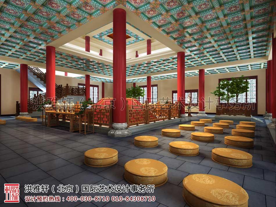 大悲寺禅意中式空间设计效果图(五)