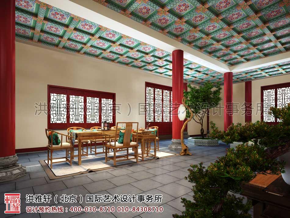 大悲寺禅意中式空间设计效果图(六)