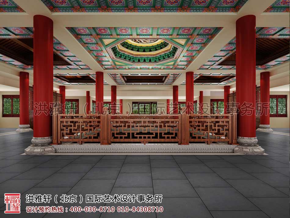 大悲寺禅意中式空间设计效果图(八)