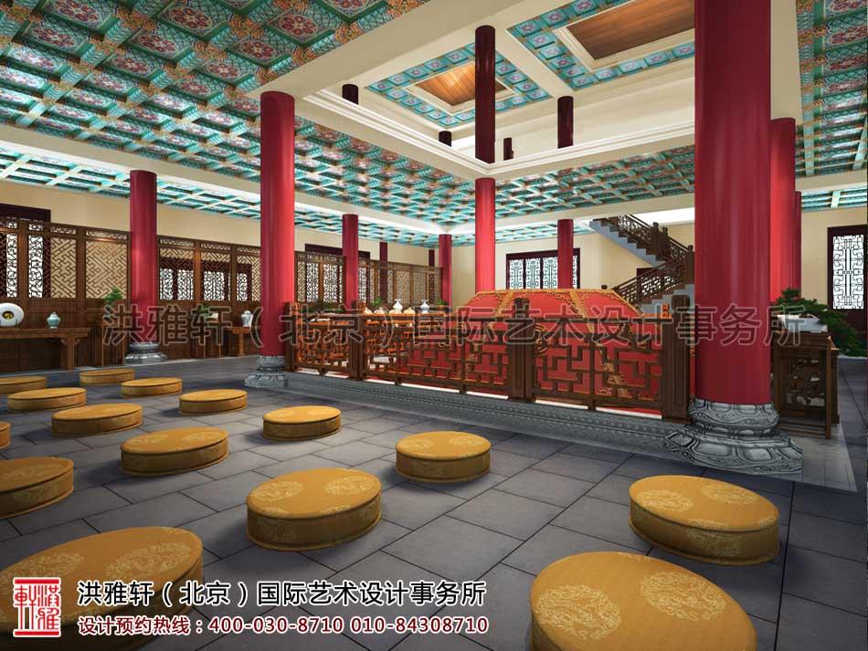 大悲寺禅意中式空间设计效果图(九)