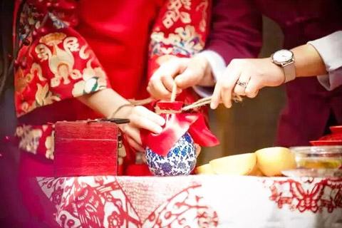 中式传统婚礼文化,主题创意浪漫且美看了都会想马上结婚