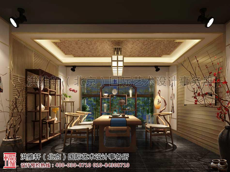 白城茶楼包房设计效果图