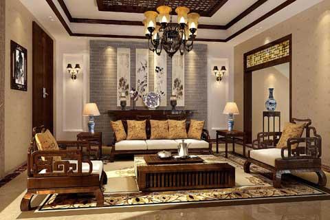 中式风格别墅设计效果图聚合赏析(七)