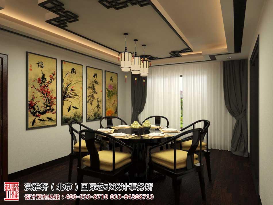 中式风格别墅设计效果图聚合赏析(八)