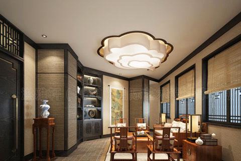 茶楼装修主题设计作用,茶楼中式装修主题设计理念