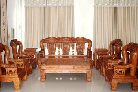典雅与时尚并行的红木家具,中式文化氛围中彰显高雅品位
