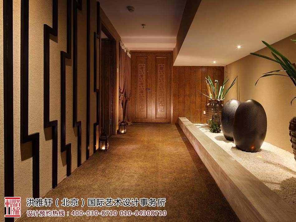 禅意风格中式茶楼设计效果图一览
