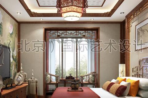 中式装修家装 中式装修如何巧妙的把小阳台改成茶室?