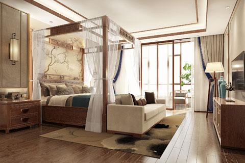 广东深圳新中式别墅设计,清雅风情的生活格调