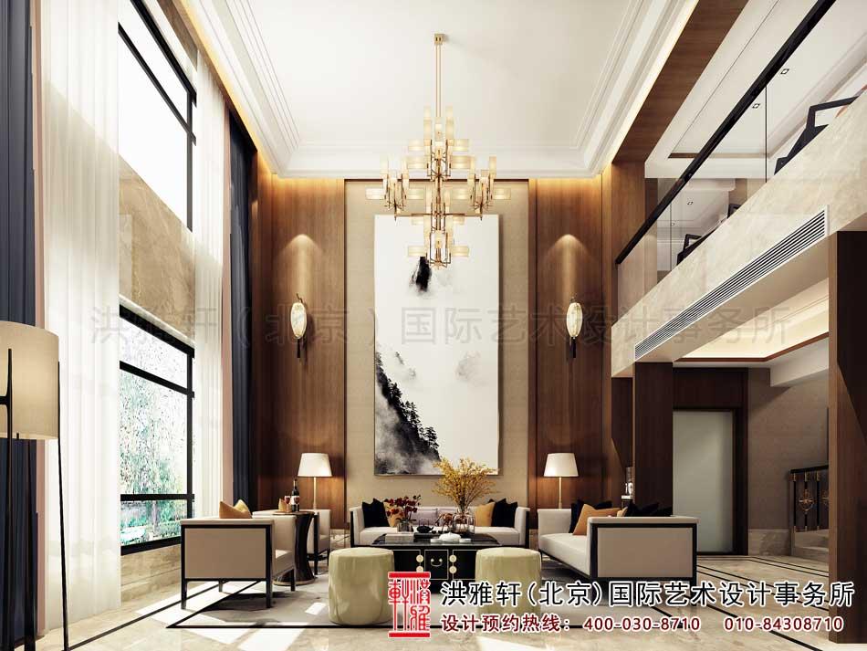 广东别墅新中式风格装修图片