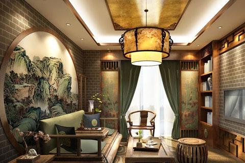 茶楼装修的中式元素,哪些元素可以用在中式茶楼装修中?