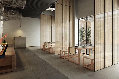 北京高碑店禅意茶楼中式设计 简约空灵却不失内涵