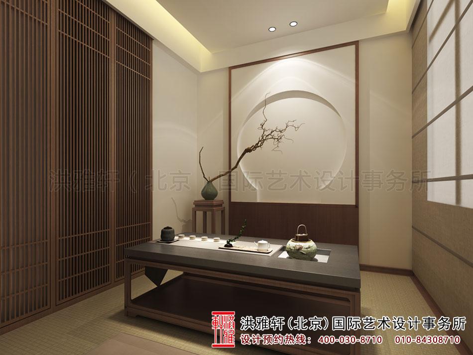 北京高碑店禅意茶楼中式设计之茶室空间(五)