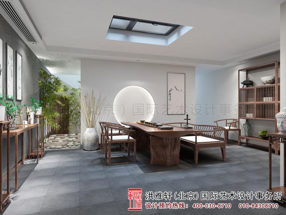 北京高碑店禅意茶楼中式设计之茶室空间(六)