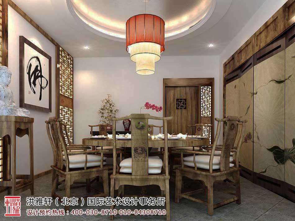 茶楼中式装修茶室效果图3