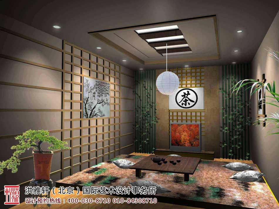 茶楼中式装修茶室效果图1
