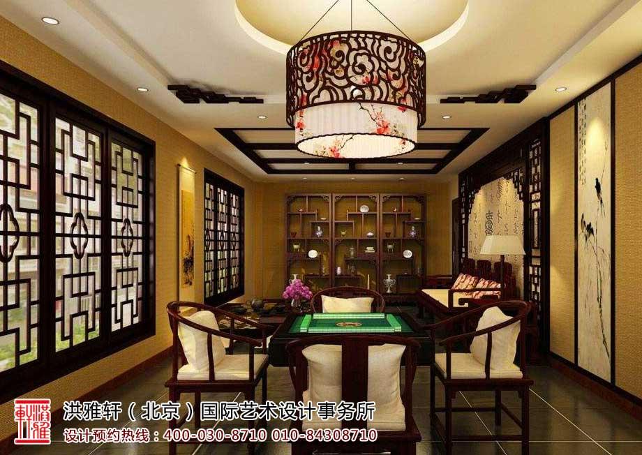 茶楼中式装修茶室效果图8