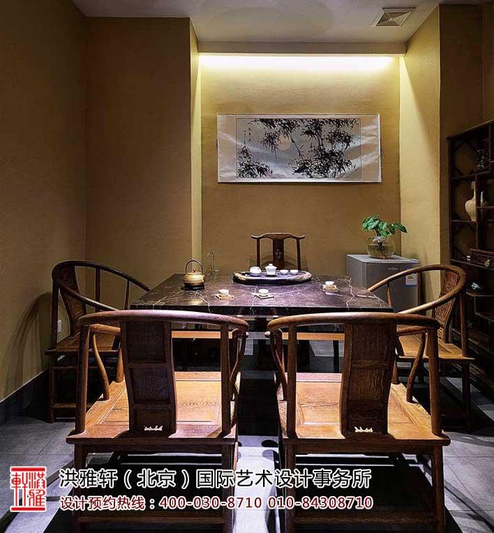茶楼中式装修茶室效果图7