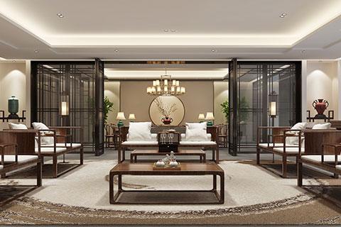 天津新中式茶会所设计 亲切而舒适的休憩之所