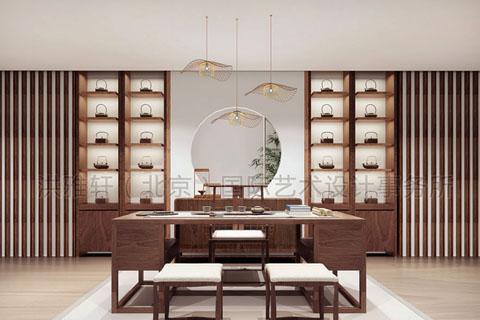中式茶楼装修配饰 中式茶楼装修意境装饰品需要哪些素材