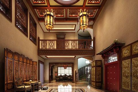 别墅中式装修风水 中式别墅装修中房门有什么风水禁忌?