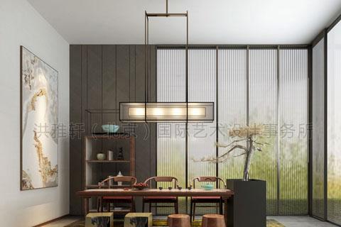 新中式装修样板间 新中式装修样板间怎么选择装饰物?