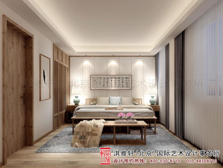 别墅中式装修卧室