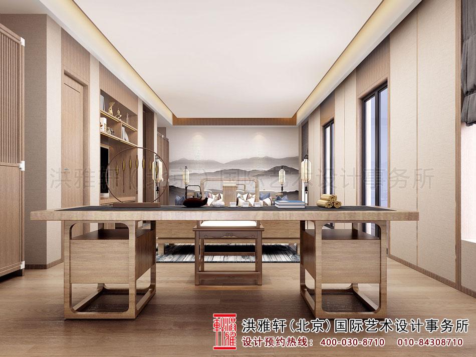 禅意别墅中式装修茶室