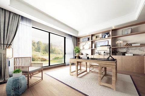 河南禅意别墅中式装修 感受居室温暖安逸祥和的生活