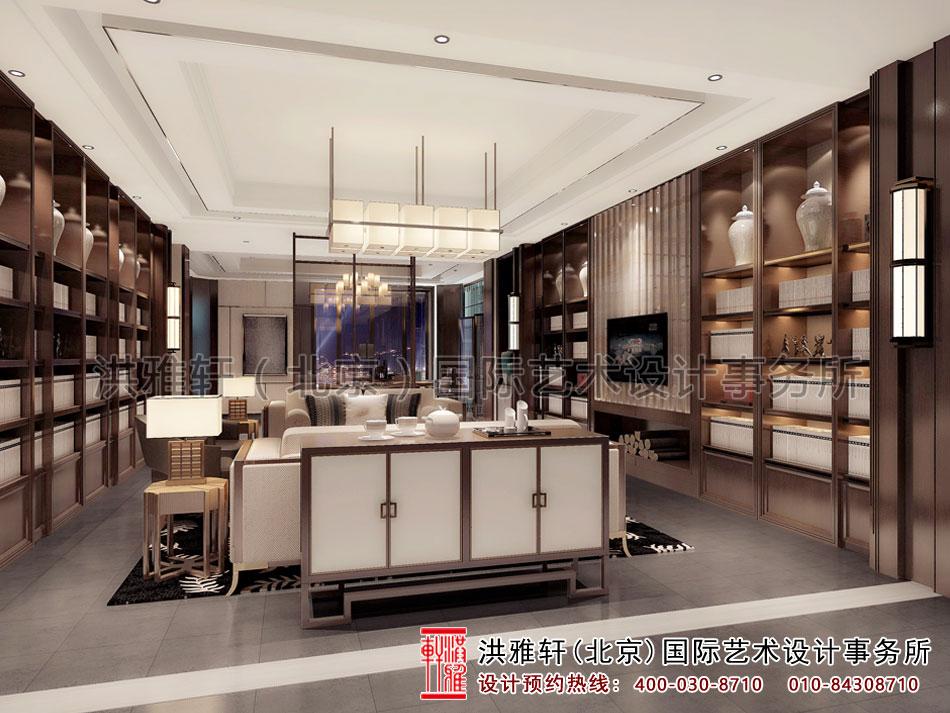 新中式风格会洽谈室